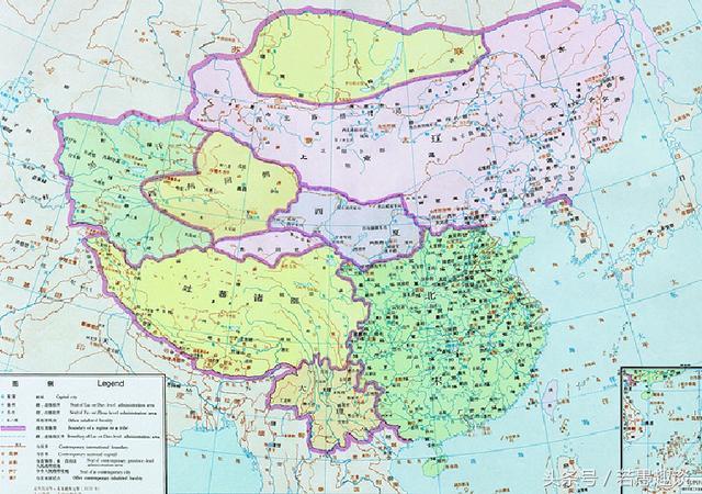 唐朝地图最大时全图