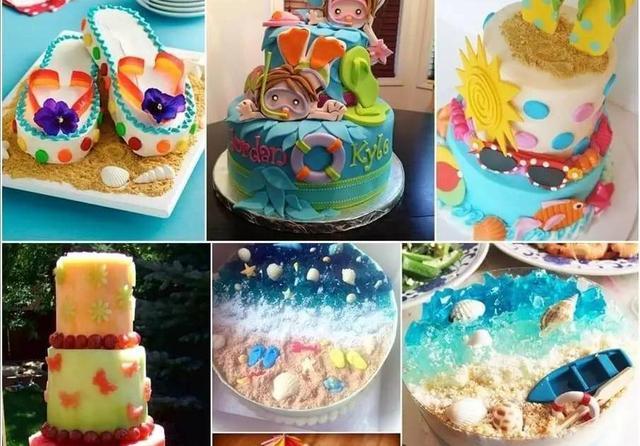 夢幻般的精美蛋糕,這樣的蛋糕你舍得吃嗎