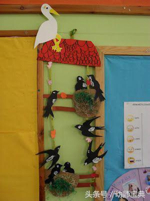 幼儿园环创   春季主题墙——春色满园,绿意盎然