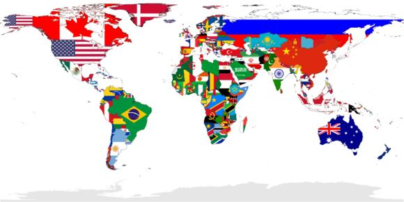国旗主要的几个常用颜色,你知道意义吗?_手机搜狐网