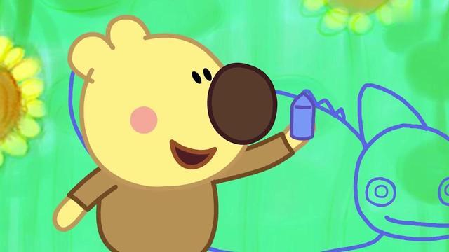 小小画家熊小米:腔棘鱼你很凶,也很可爱_网易视频