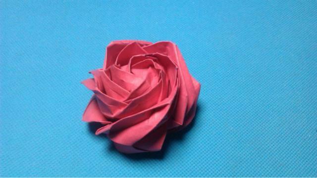 折纸王子教你折八瓣花之小黄花(上)