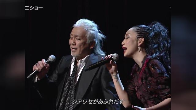 【视听盛宴】中岛美嘉 & 玉置浩二 - 雪の華