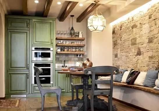 雍贤府小区装修案例 上海80平米两室一厅装修效果图