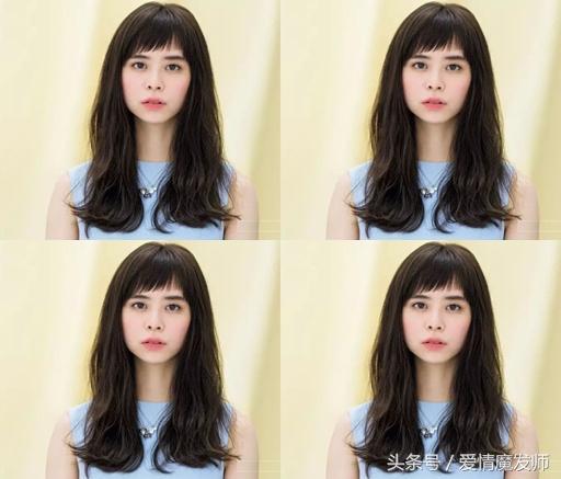 好看长发发型图片女生