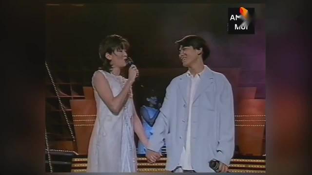 刘德华、梅艳芳《绝望的笑容》现场版,至今再无人翻唱!