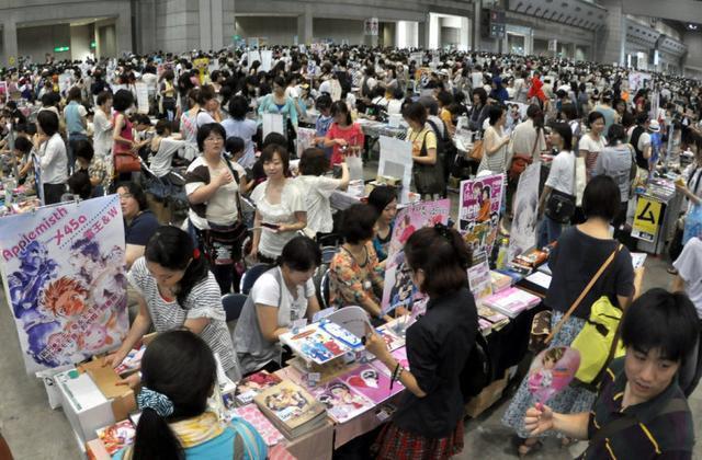 去日本漫展不会日语,你了解真实的日本漫展吗?