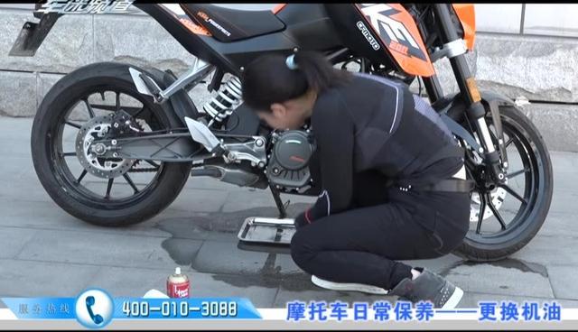 今天自己动手给家里摩托车换机油_科鲁兹论坛_手机汽车之家