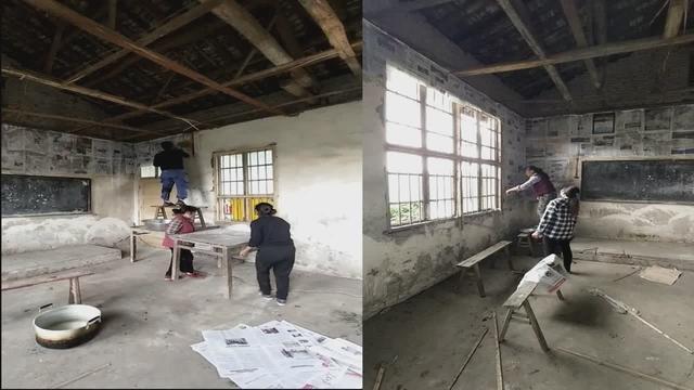 旧房改造,乡村生活,来看看一间小屋三个月的变化吧(上)