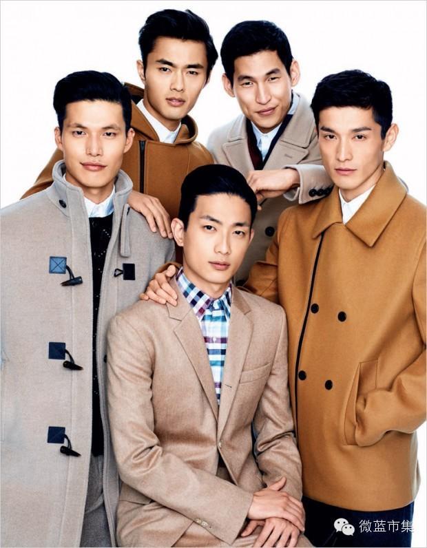养眼男神︱颜值爆表的亚洲男模,谁才是你最爱?