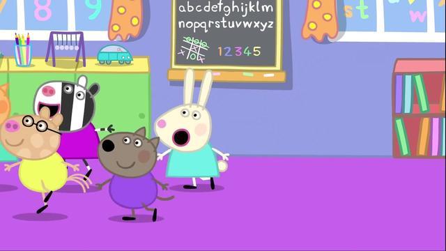小猪佩佩考级漫画