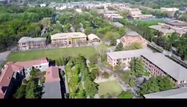 清华大学最新航拍