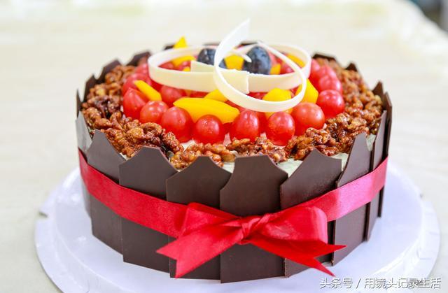 小清新簡約的法式蛋糕