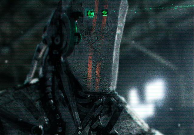 未来科幻人形机甲图片
