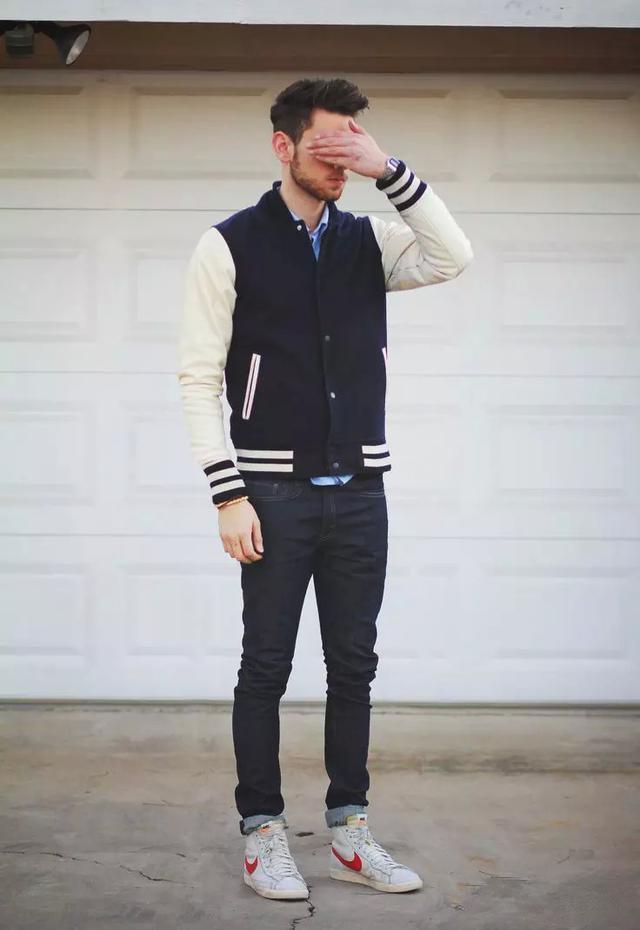 胖崔推荐:帅气男士棒球服,成熟中带点可爱,时尚男神减龄必备!