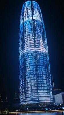 郑州大玉米夜景