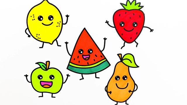 水果简笔画大全大图