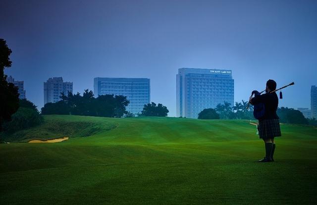 名副其实的高尔夫酒店