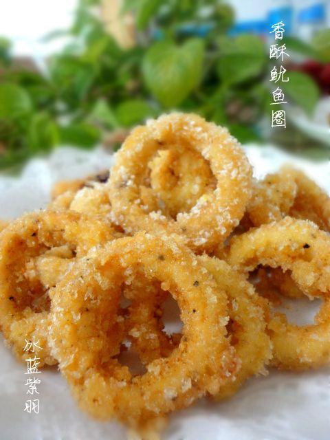 美食篇:香酥鱿鱼圈做法