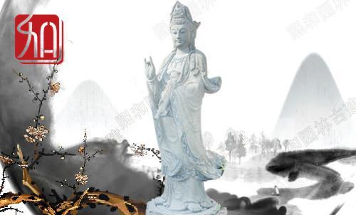 石雕观音|世界最大花岗岩石雕观音像