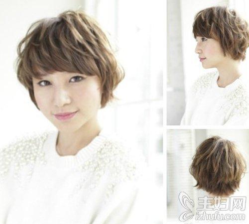 女儿童短发发型图片