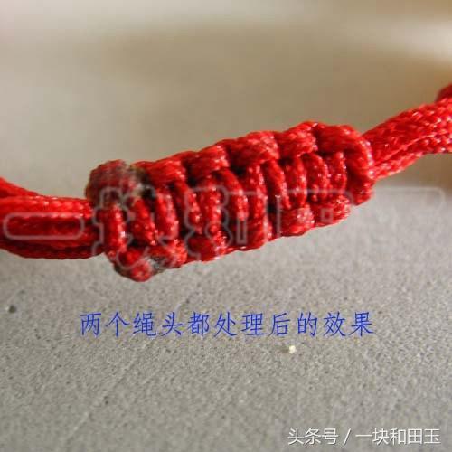 最全编绳攻略!图解清晰!从此玩玉穿绳打结不求人