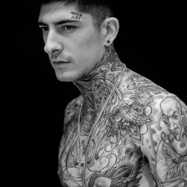 小臂纹身图案男