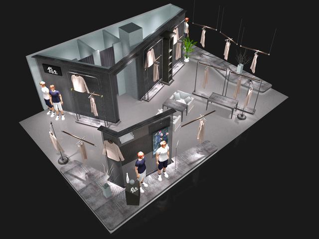 服装店展示架比质量 必须是用不锈钢展示架