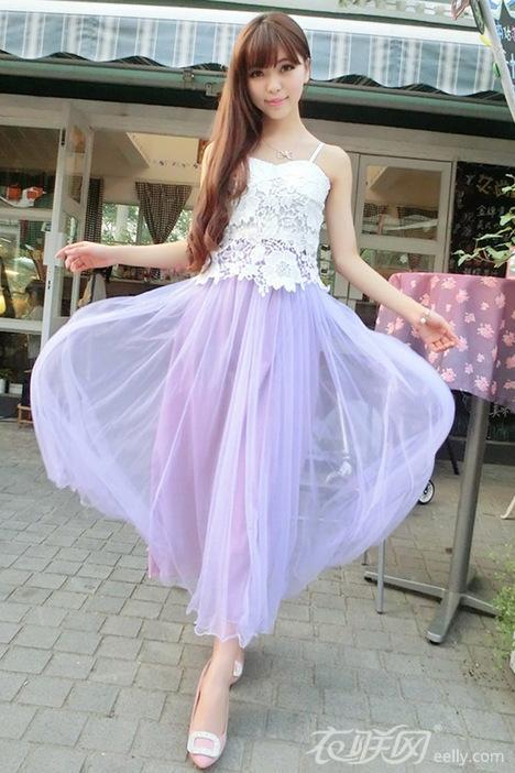 廣場舞中老年半身舞裙