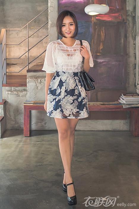 掌握韩版女式夏装搭配比例 助你展现身材曲线
