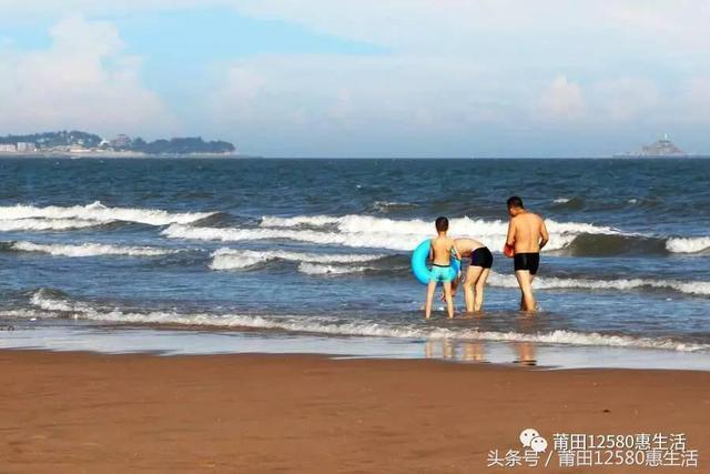 实拍:莆田市秀屿区平海镇上店户角黄金沙滩