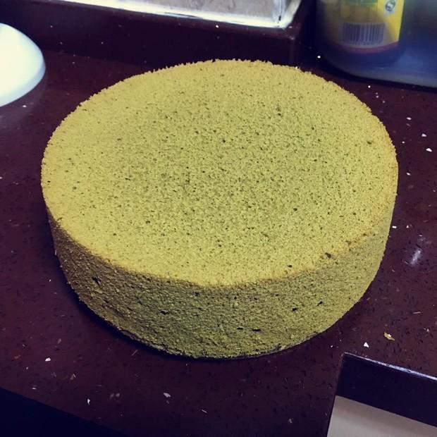 八寸抹茶蛋糕