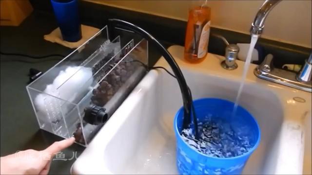 侧过滤鱼缸制作图解