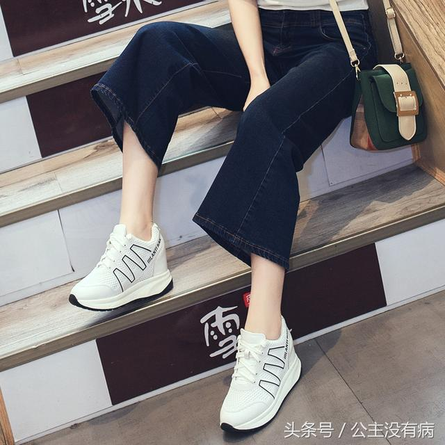 女式内增高休闲鞋
