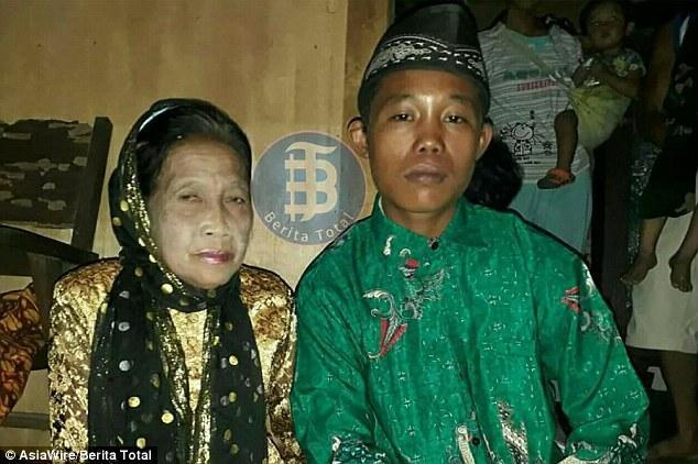 20多岁男子和60多岁女人结婚
