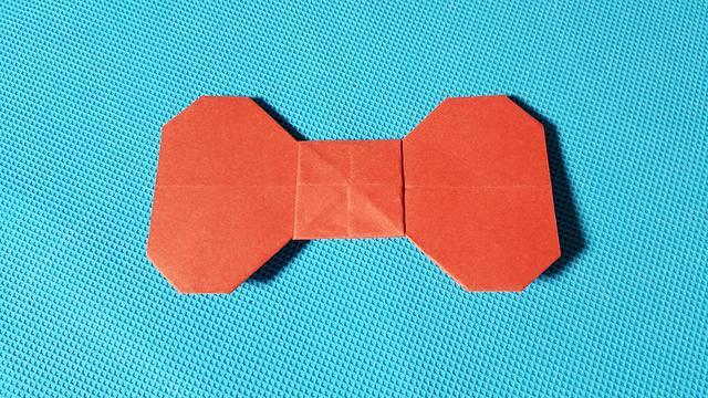 折纸王子 蝴蝶结手环 讲解详细 一看就会