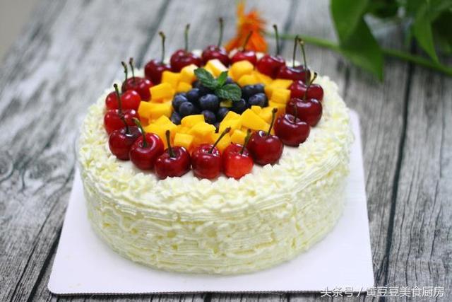 自己動手做一個漂亮的生日蛋糕,安全又放心,比外面買的還好吃!
