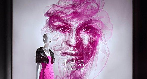 蕾丝刺绣为主线,轻柔的薄纱让肌肤若隐若现_腾讯网
