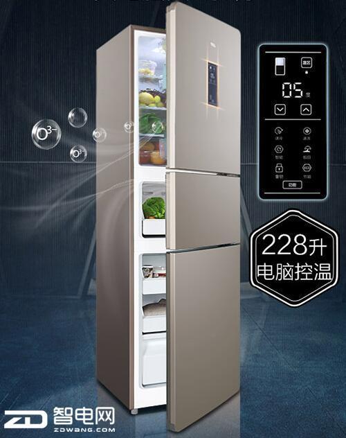 容声三门冰箱视频