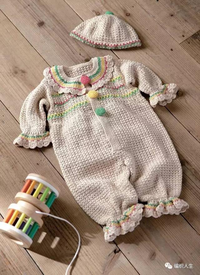宝宝连体衣裁剪图