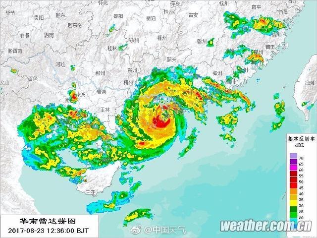 """14级!台风""""天鸽""""登陆,惠州迎11年来最高潮水位"""