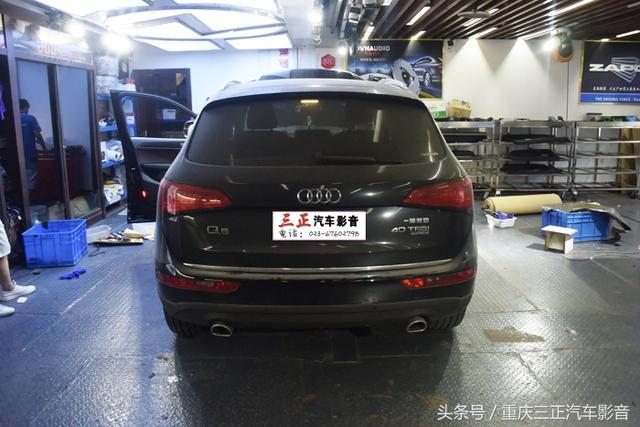 [Q5]重庆源声低调改装奥迪Q5、RS\诗芬尼... - 车友谈车 重庆社区