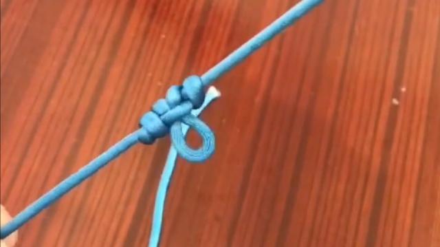 自制串钩的绑法图