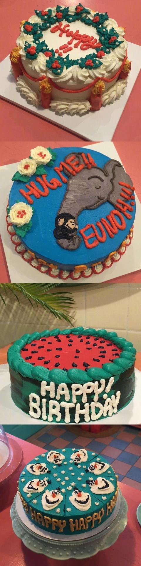 卡通系列蛋糕