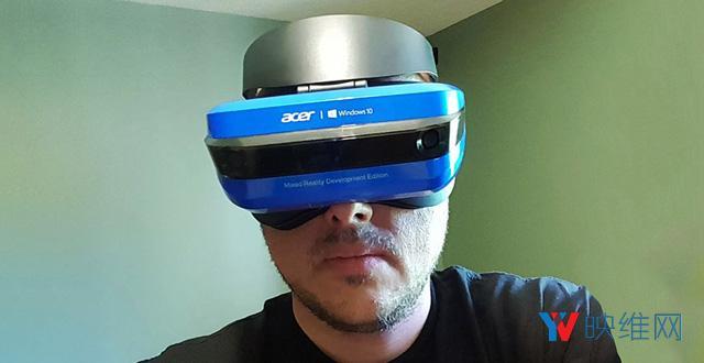 跟VR头显没啥差别,宏碁Windows MR头显体验手记