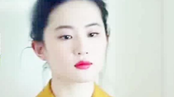刘亦菲吃火锅照片