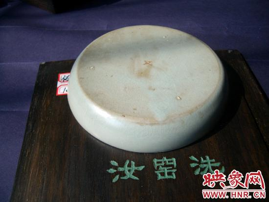 盘点流落在海外的遗珍之宋汝窑天青釉碗