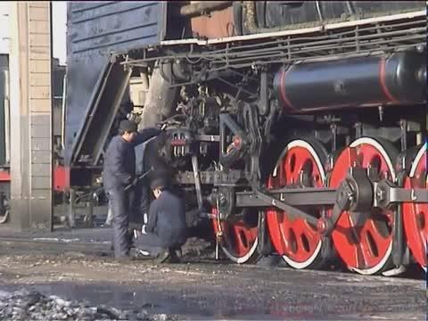 """""""前进""""(QJ)型蒸汽机车(1955)"""