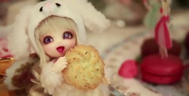 开箱 DIY装扮 美少女 球形关节娃娃 超漂亮 可爱