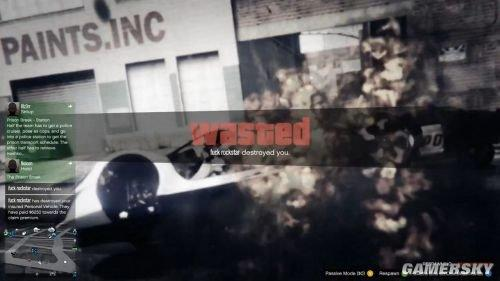 R星屡禁不止:《GTA5》在线模式外挂横行